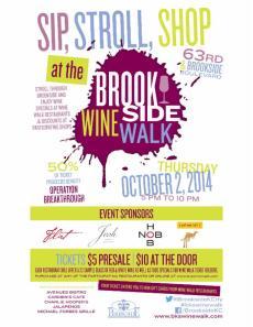 brookside wine walk