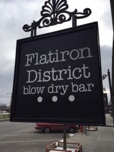 flat sign