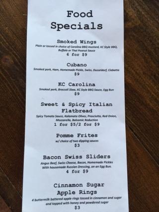 bs menu