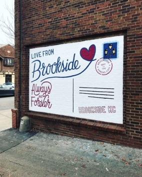 Brookside mural