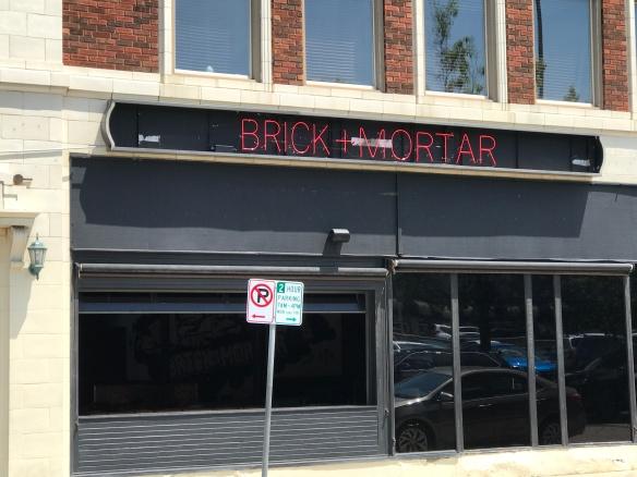 Brick front
