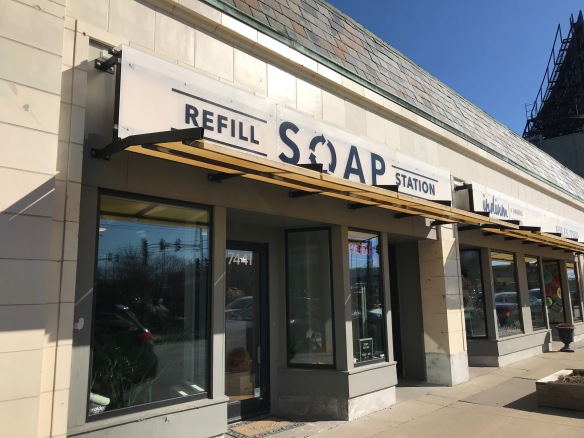 Soap refill Station